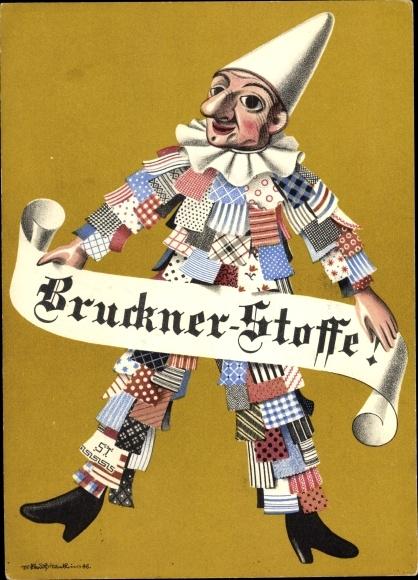 Ak Basel Schweiz, Bruckner Stoffe, Gerbergasse 20 0