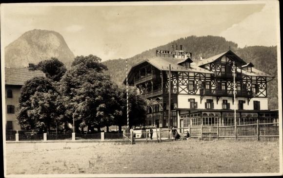 Foto Ak Kufstein in Tirol, Villa Zellerburg