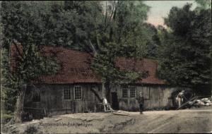Ak Kupfgermühle Rohlfshagen Rümpel in Schleswig Holstein, Wassermühle, Wasserrad