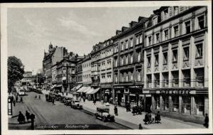 Ak Saarbrücken im Saarland, Reichsstraße