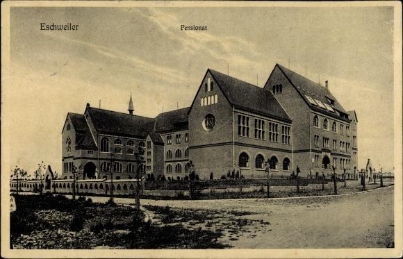 Ak Eschweiler in Nordrhein Westfalen, Pensionat