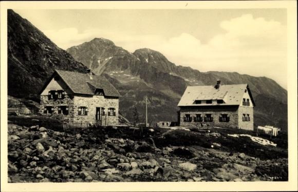Ak Neustift im Stubaital in Tirol, Sulzenauhütte