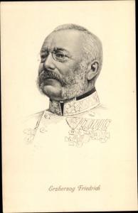 Künstler Ak Erzherzog Friedrich von Österreich-Teschen