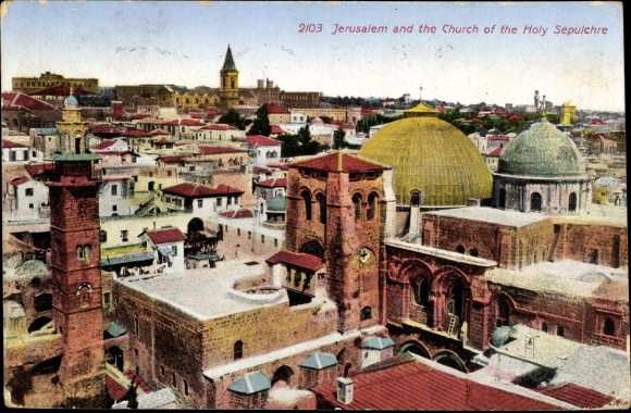 Ak Jerusalem Israel, Church of the Holy Sepulchre