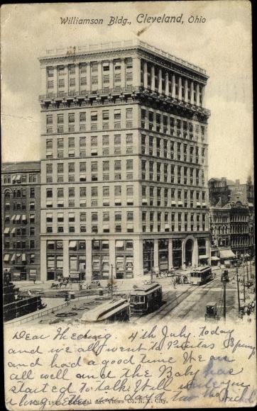 Ak Cleveland Ohio USA, Williamson Building