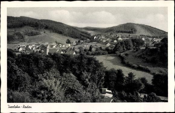 Ak Iserlohn Roden im Märkischen Kreis, Panorama vom Ort