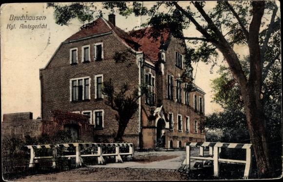 Ak Bruchhausen Olsberg Sauerland, Kgl. Amtsgericht