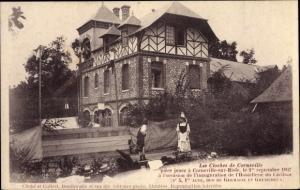 Ak Eure, Corneville sur Risle, Les Cloches de Corneville, Theaterszene