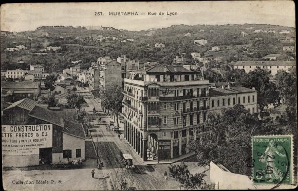 Ak Mustapha Algerien, Rue de Lyon