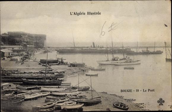 Ak Bougie Bejaia Algerien, Le Port