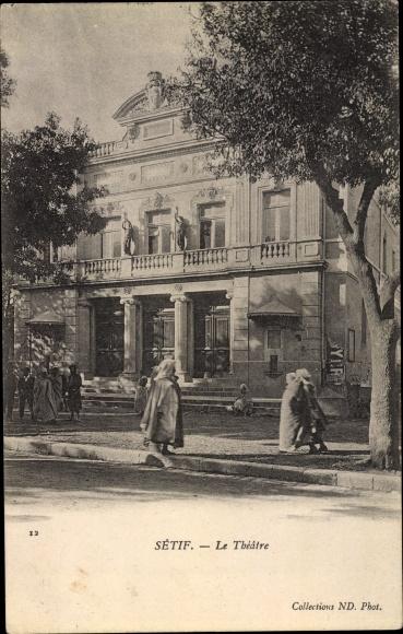 Ak Setif Algerien, Le Theatre