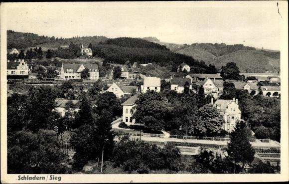 Ak Schladern Sieg Windeck, Panorama