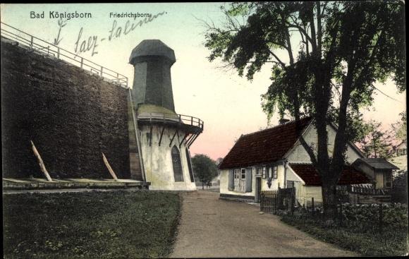 Ak Bad Königsborn Unna, Friedrichsborn, Gradierwerk