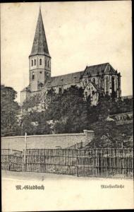 Ak Mönchengladbach in Nordrhein Westfalen, Münsterkirche
