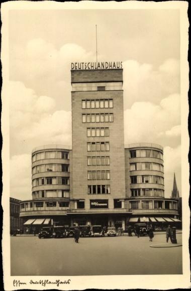Ak Essen im Ruhrgebiet, Deutschlandhaus 0