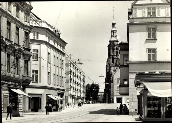 Ak Legnica Liegnitz Schlesien, Ulica Zlotoryjska