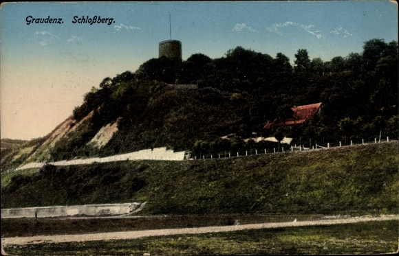 Ak Grudziądz Graudenz Westpreußen, Schlossberg