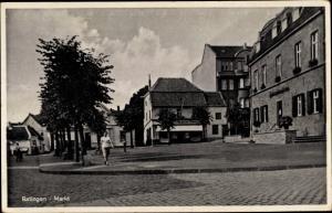 Ak Ratingen Nordrhein Westfalen, Markt