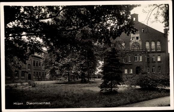 Ak Hilden Nordrhein Westfalen, Diakonissenhaus
