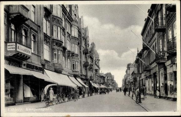 Ak Esbjerg Dänemark, Kongensgade