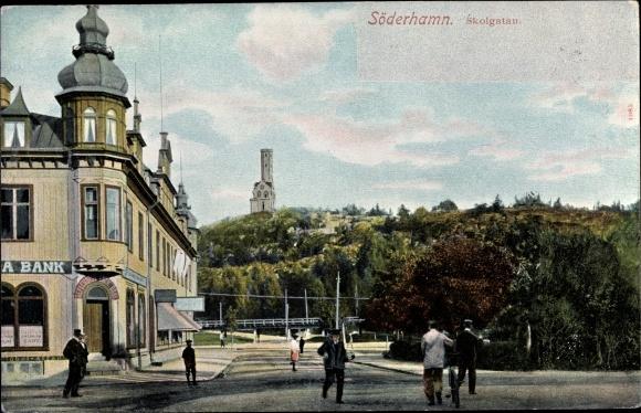 Ak Söderhamn Schweden, Skolgatan