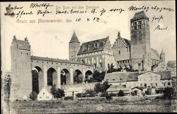 Ak Kwidzyn Marienwerder Westpreußen, Dom, Danziger