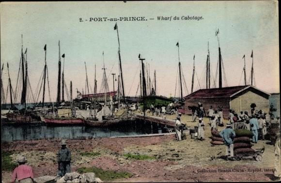 Ak Port au Prince Haiti, Wharf du Cabotage