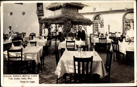 Ak Villa Aeuna Mexiko, Willie Wong's Royal Cafe