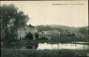 Ak Panissières Loire, Etang du Boulevard
