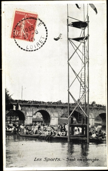 Ak Les Sports, Saut en plongée, Turmspringer