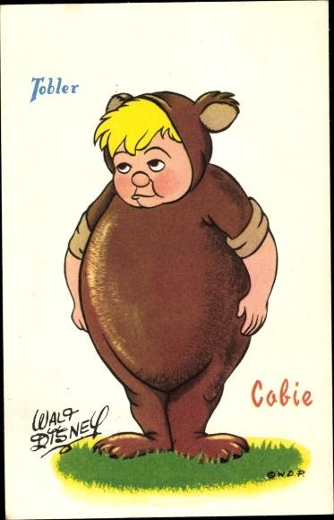 Künstler Ak Tobler, Cobie, Walt Disney