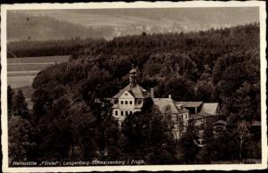 Ak Langenberg Schwarzenberg im Erzgebirge Sachsen, Heimstätte Förstel