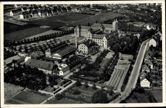 Ak Limburg an der Lahn Hessen, Missionshaus der Pallottiner, Luftbild