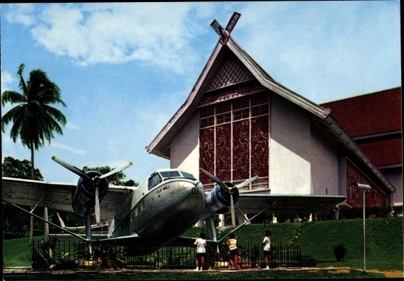 Ak Kuala Lumpur, National Museum with old aeroplane