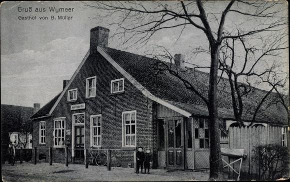 Ak Wymeer Bunde in Niedersachsen, Gasthof B. Müller