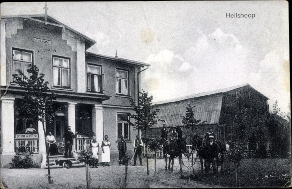 Ak Heilshoop Schleswig Holstein, Haus Förster