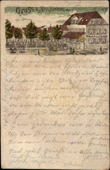 Litho Neu Isenburg in Hessen, Wirtschaft J. Schäfer