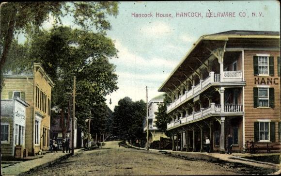 Ak Hancock Delaware Co. New York USA, Hancock House