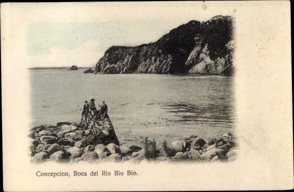 Ak Concepcion Chile, Boca del Rio Bio Bio