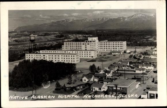 Foto Ak Anchorage Alaska USA, Native Alaskan Hospital