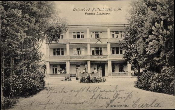 Ak Ostseebad Boltenhagen, Pension Luckmann