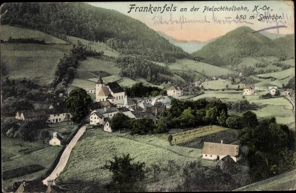 Ak Frankenfels in Niederösterreich, Panorama