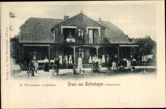 Ak Ostseebad Boltenhagen, H. Wiechmann, Logierhaus
