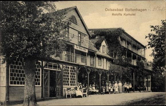 Ak Ostseebad Boltenhagen, Roloffs Kurhotel
