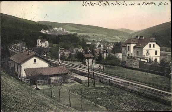 Ak Untertullnerbach in Niederösterreich, Gesamtansicht