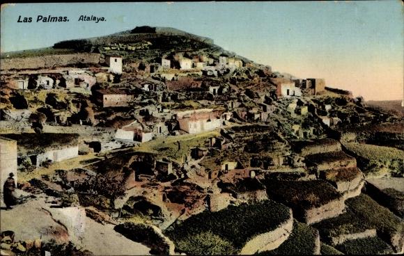 Ak Las Palmas de Gran Canaria Kanarische Inseln, Atalaya