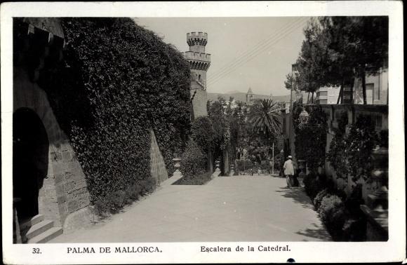 Ak Palma de Mallorca, Escalera de la Catedral