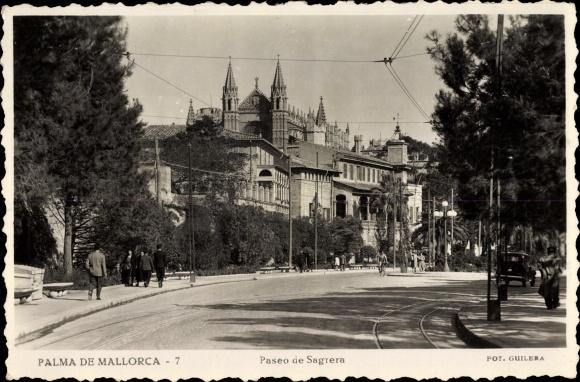 Ak Palma de Mallorca, Paseo de Sagrera