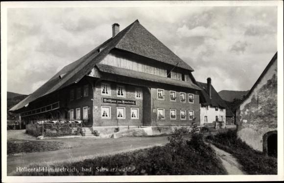 Ak Kirchzarten in Baden Württemberg, Höllental, Gasthaus zum Himmelreich