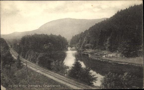 Ak Crianlarich Stirling Schottland, River Dochart